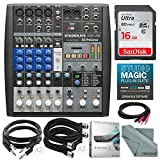 PreSonus StudioLive AR8 USB 8-Channel hybrid Performance and Recording Mixer and...