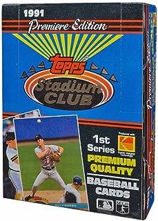 Best 1991 stadium club baseball Reviews