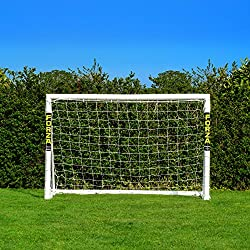 Net World Sports Forza 1,8m x 1,2m Soccer Goal - This gate can be left outside in any weather year round (Gate only)