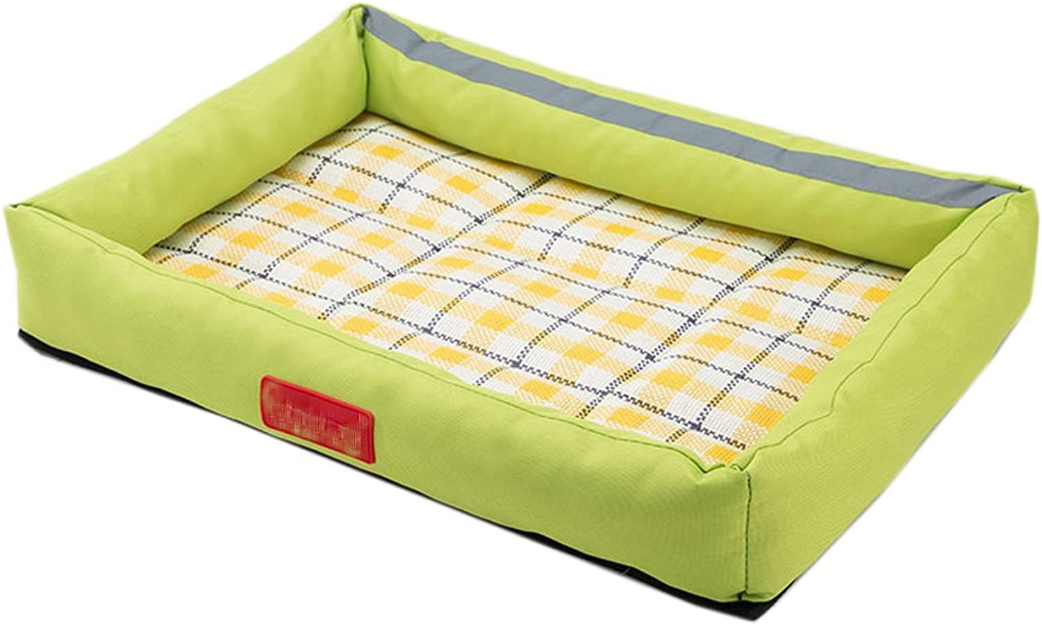 Fluffy Paws Pet Bed Crate Pad Premium Summer Bedding for Dogs & Cats,Light Green 1