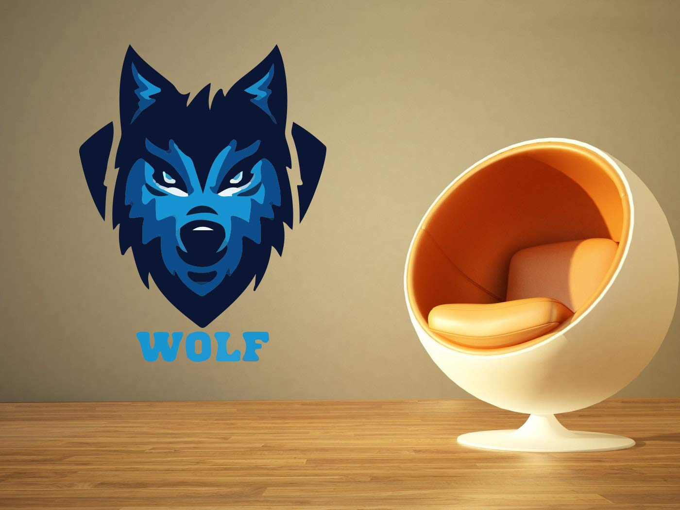 Ranking TOP9 Wolf Animal Fitness Large-scale sale Gym Sport Workout Emblem Logo Sign Viny Wall