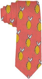 Limones amarillos para hombre arreglados perfectamente Corbata de ...