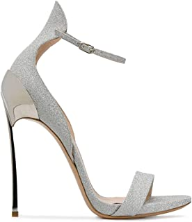 Casadei Luxury Fashion Womens 1L500G120MY781016 Silver Sandals | Spring Summer 19