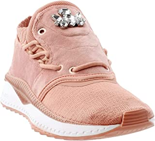Womens Tsugi Shinsei Velour Casual Sneakers,