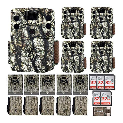 Browning Trail Cameras Command Ops Elite 18MP Trail Camera with 32GB SD Card and Card Reader Bundle (3 Items)