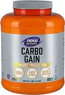 NOW Sports Nutrition, Carbo Gain (Maltodextrin), 8-Pound