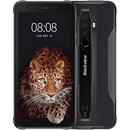 "Móvil Resistente, Blackview BV6300 Pro Android 10 Smartphone 4G con Cámara Cuádruple 16MP+13MP, Helio P70 Octa-Core, 6GB+128GB-SD 128GB, Batería 4380mAh, 5.7"" HD+ Telefono Movil Antigolpes, NFC/GPS"