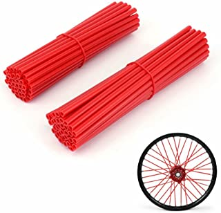 JFG RACING 72 Pcs Spoke Covers Guards Red - 19