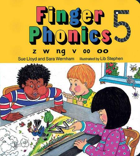 Finger phonics book. Per la Scuola elementare. Con espansione online: 5 (Jolly Phonics: Finger Phonics)