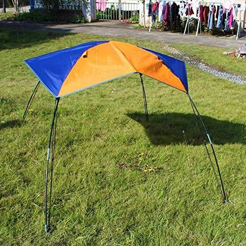 ZXCVBW Strand Zelt Markise 1-2 Personen Gummiboot Zelte Sonnenschutz Baldachin UV-Schutz Schlauchboot Abdeckung Faltzelt für Camping Angeln