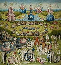 'Hieronymus Bosch-The Garden Of Earthly Delights,15th Century' Oil Painting, 24x26 Inch / 61x65 Cm ,printed On Perfect Effect Canvas ,this High Resolution Art Decorative Canvas Prints Is Perfectly Suitalbe For Bedroom Decoration And Home Artwork And Gifts
