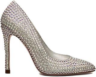 Zapatos de Cristal Swarovski tacón Mujer - Cenicienta Swarovski Cristal - Fabricados a Mano - Pump Cinderella - Varias Alturas