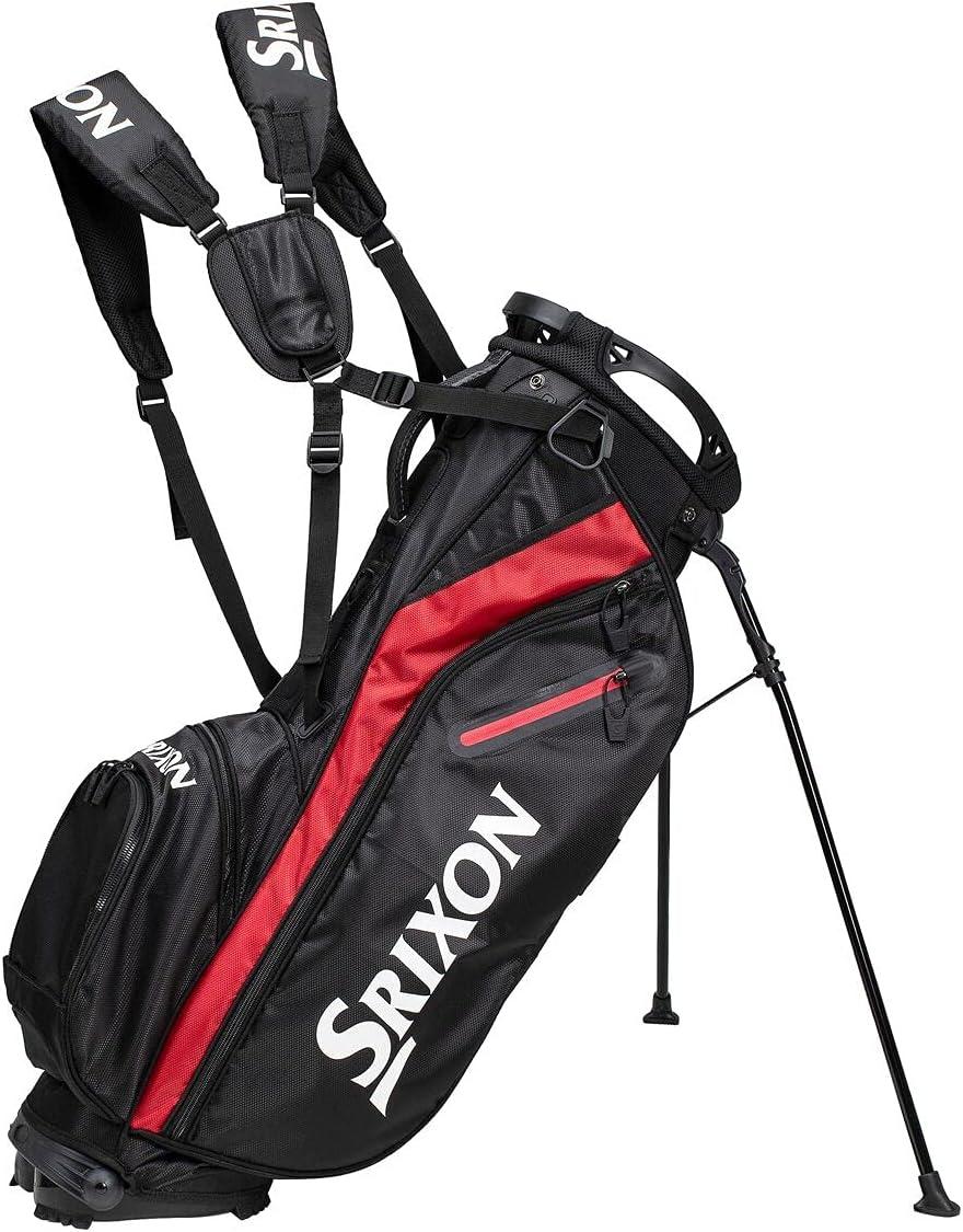 Attention brand Srixon New color Z SRX Stand Bag Black 12118591 Red