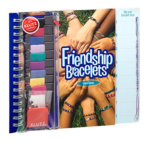 Product Image of the Klutz Friendship Bracelets Craft Kit Multicolored, 10.5' Length x 0.69' Width x...