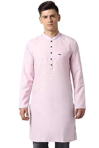 Peter England Men Tunic Shirt Casual Shirts