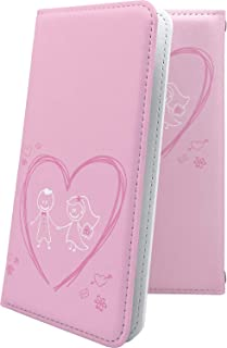 X02HT ケース 手帳型 ハート love kiss キス 唇 女の子 女子 女性 レディース エックスエイチティー 手帳型ケース かわいい 可愛い kawaii lively x01 ht ラブ ペア