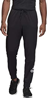Adidas Men's Must Haves Badge of Sport Pants Activewear Pants, Black (Black/white), Large (DT9960)
