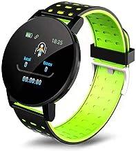 UIEMMY slim horloge Smart Horloges Hartslag Waterdicht Smart Polsband Man Sporthorloge Wekker Smartwatch voor IOS Android