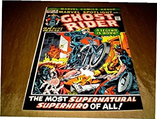 MARVEL SPOTLIGHT #5 (1972) UNCIRCULATED MINT- 9.9 WHITE PAGES *Guaranteed Unrestored* 1st GHOSTRIDER (Marvel Spotlight)