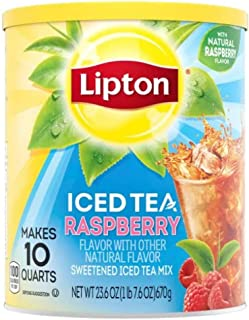 Lipton Iced Tea Mix, Raspberry 26.8 oz