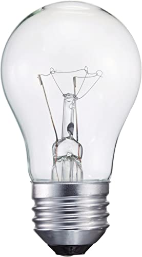 Philips 416768 Clear Appliance 40-Watt A15 Light Bulb