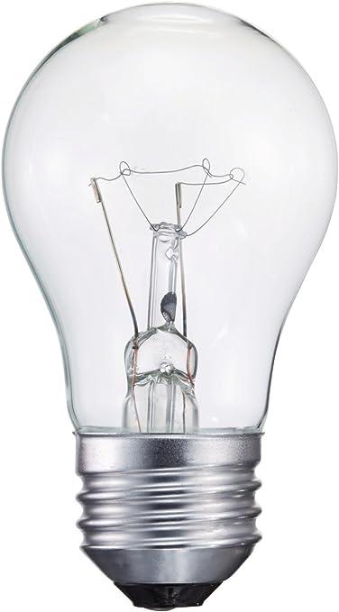 Philips 416768 Clear Appliance 40 Watt A15 Light Bulb Incandescent Bulbs