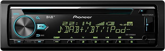 Pioneer DEH-X7800DAB , 1DIN Autoradio , CD-Tuner mit RDS , FM und DAB/DAB+ Tuner , CD ,..