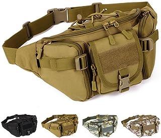 Táctica Cintura Pack portátil riñonera al Aire Libre Ejército Bolsa de Cintura Militar de frío para Ciclismo Camping Senderismo Caza Pesca