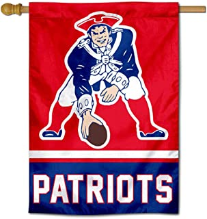 WinCraft New England Patriots Pat Patriot Two Sided House Flag
