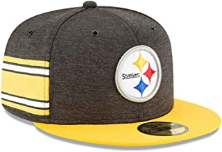 New Era Pittsburgh Steelers NFL Sideline 18 Home On Field Cap 59fifty Fitted OTC