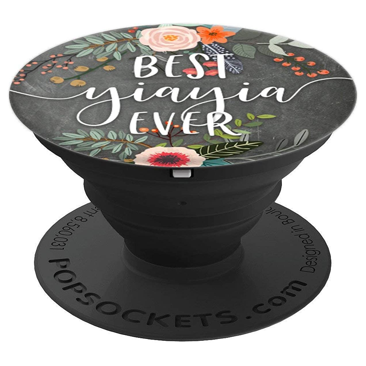 Best Yiayia Ever - Cute Mother's Day Gifts for Grandma - PopSockets Grip and Stand for Phones and Tablets