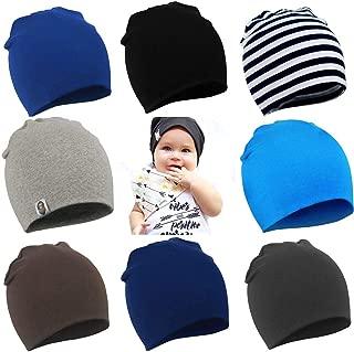 YJWAN Toddler Infant Baby Beanie Soft Cute Cotton Unisex Lovely Boy Girl Knit Cap Hat