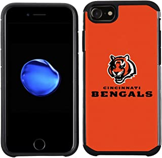 Prime Brands Group Cell Phone Case for Apple iPhone 8/ iPhone 7/ iPhone 6S/ iPhone 6 - NFL Licensed Cincinnati Bengals Tex...