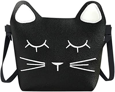Lovely Cute Cat Handbags Bag Children Designed Messenger Mini Shoulder Kids Present Gift Girls Kawaii Crossbody
