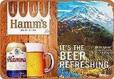 Generic Brands Hamm's Beer and Mount Ranier Blechschild