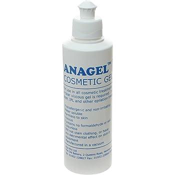 Anagel Cosmétique Gel, optimise l'épilation laser et lumière pulsee IPL - 250ml