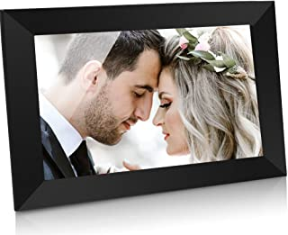GRC 10.1 Inch WiFi Digital Photo Frame with IPS Full HD Touch Screen, Send Photos and Videos from App (iOS Android) Anywhe...