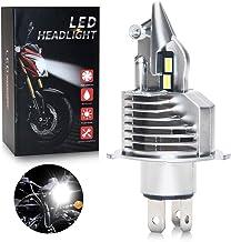 OPPULITE Bombilla H4 LED para Faro de Moto 8000LM, DC 12V, Reemplazo de la Luz Halógena Kit, Xenon Blanco 6000K, 1 Pieza