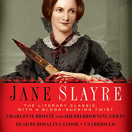 Jane Slayre audiobook cover art