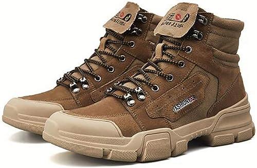 TTRR Bottes Martin Martin Hommes marée Chaussures Hommes Chaussures dans la Neige Bottes Chaussures Hiver Coton Chaussures (Couleur   B, Taille   40)  meilleure qualité meilleur prix