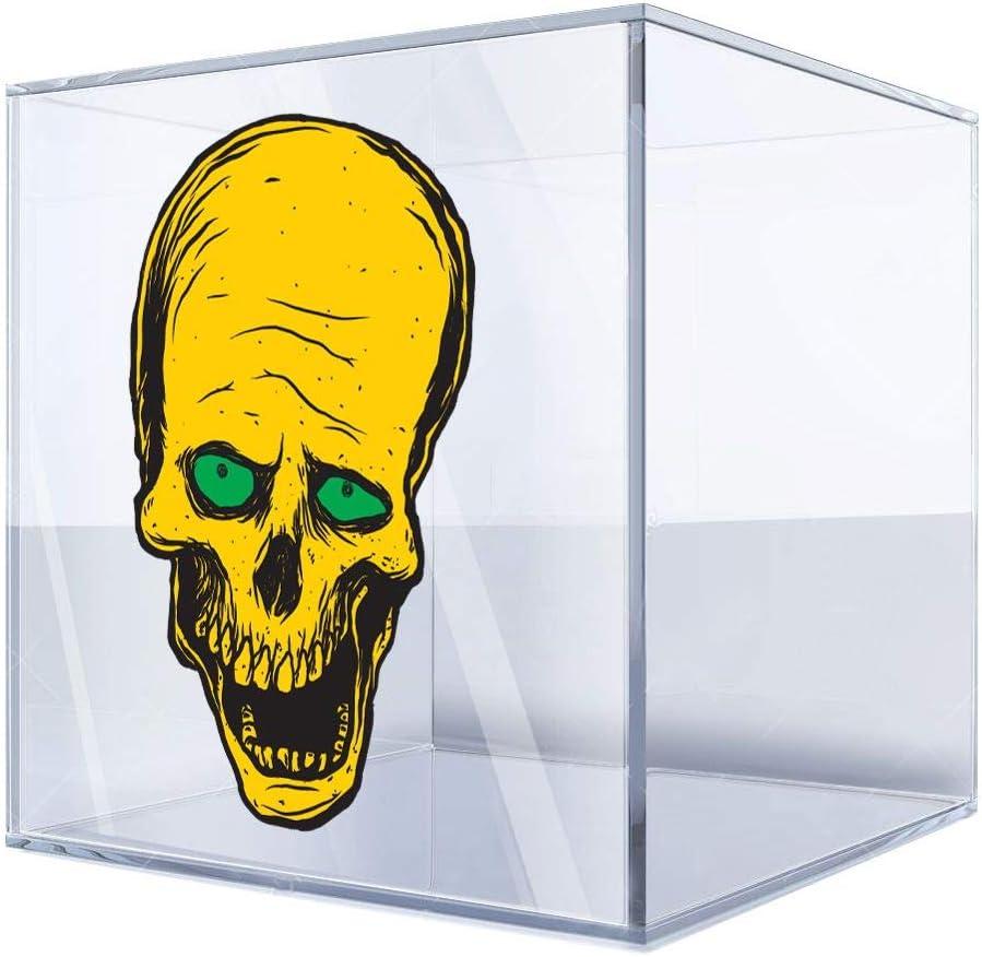 DT Stickers depot Decals Decal Yellow Skeleton Sca Skull cranium Scalp price