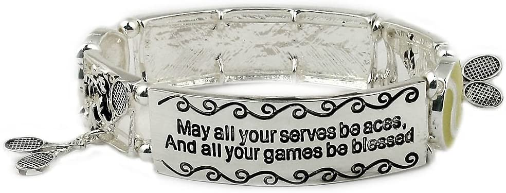 Tennis Bracelet gift for tennis supreme High quality team. player and coach