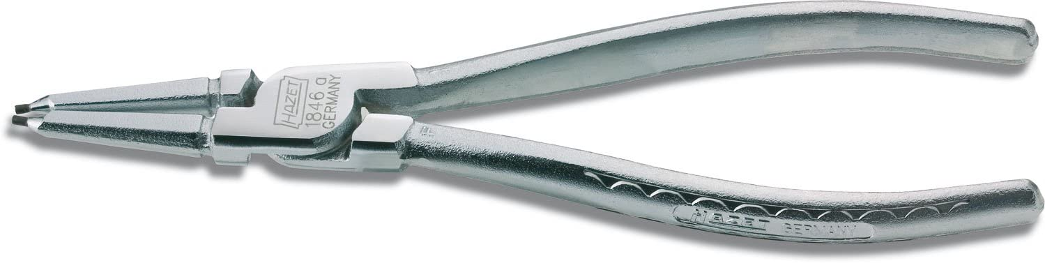 Hazet 1846A-1 Milwaukee Mall Super Special SALE held Chromed Inside Circlip 12-25mm Pliers