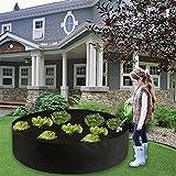 Letto rialzato in tessuto Niceen,Grande scatola di crescita,Contenitore di giardiniere,Vaso di verdure rialzato fiore crescere borsa