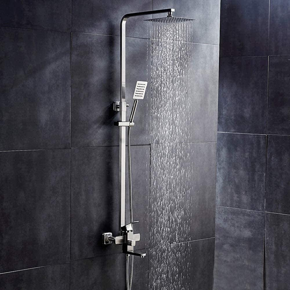 304 Stainless Steel Shower Faucet Set Low price Bathroom Household store