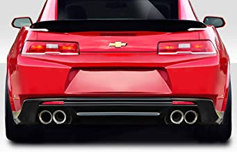 Extreme Dimensions Duraflex Replacement for 2014-2015 Chevrolet Camaro ZL1 V2 Look Rear Bumper - 1 Piece