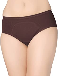 Juliet Period Panty, 5 Days Hygine Sanitary Panty, Specially Coated to Prevent Leakage, Stain Proof, Comfortable fit throughout Period Days , Regular Fit, Hipster Full Coverage Below Waist Line Panties , Soft & Smooth Inner Waistband for No Marks on Skin, Menstrual Panties, Wash and Reuse Anti-leaking Panty, Anti Microbial Panty