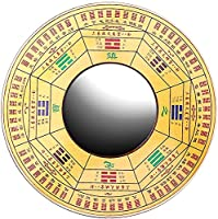 伝統的な中国の風水八卦鏡、 ホームオーナメントデコレーション、 受動的な負のエネルギーと有害なエネルギーからの保護のために (Color : Concave Mirror, サイズ : 12CM)
