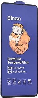 Bingo 9D Full Covered Tempered Glass Screen Protector For Xiaomi Poco X2 & Xiaomi Redmi K30 - Black Edges