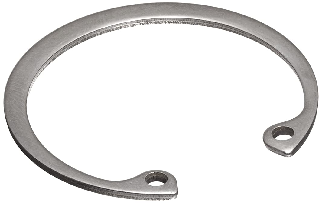 Standard Internal Retaining Ring, Tapered Section, PH15-7 Stainless Steel, Passivated Finish, 1-1/64